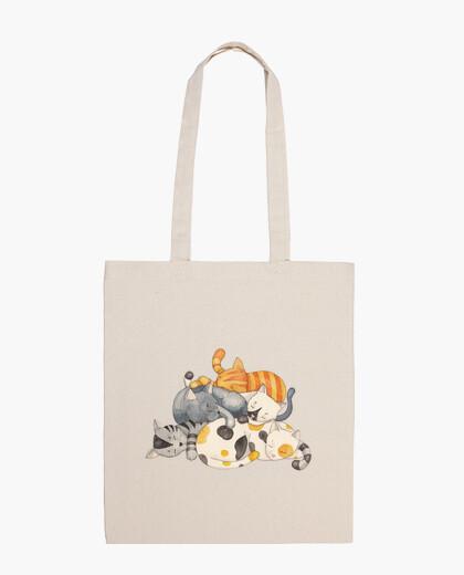 Bolsa Cat Nap - Siesta Time (camiseta)