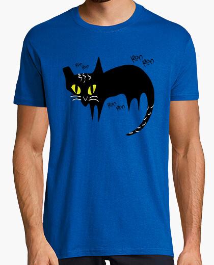 Tee-shirt cat ronron