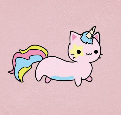 Abbigliamento Bambino Simpatico Gatto Unicorno 1441010 Tostadorait