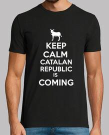 Catalan republic keep calm blanc home