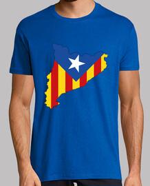 catalonia independent men's t-shirt