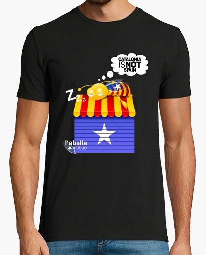 Camiseta CATALONIA IS NOT SPAIN noi