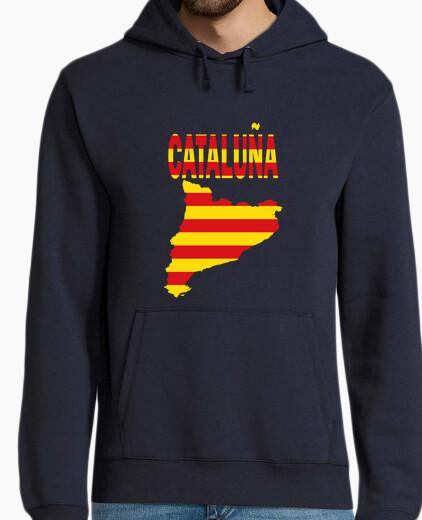 Cataluña Bandera y letras jersey