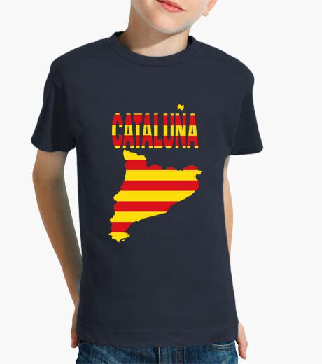 Ropa infantil Cataluña Bandera y letras niños