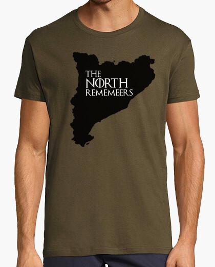 Camiseta Catalunya Referendum - the north remembers