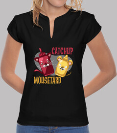 catchup & chemise mousetard fille