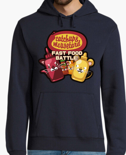 Catchup & mousetard team hoodie