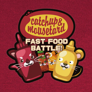 catchup & mousetard ffb! team T-shirts
