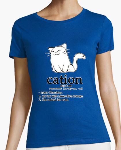 Tee-shirt cation