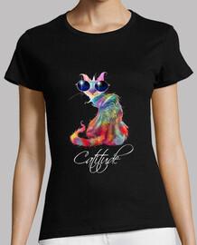 catitude - estilo de gato - colorido