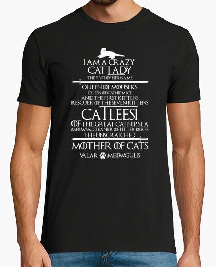 Camiseta Catleesi. Mother Of Cats. Gatos y Ratones