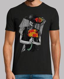 Catrina avec bouquet / Katrina