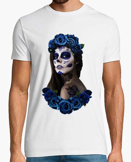 Camiseta catrina azul