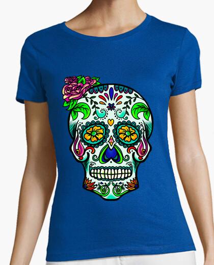 Camiseta Catrina flúor