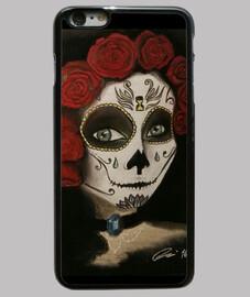 Catrina Funda iPhone 6 Plus, negra
