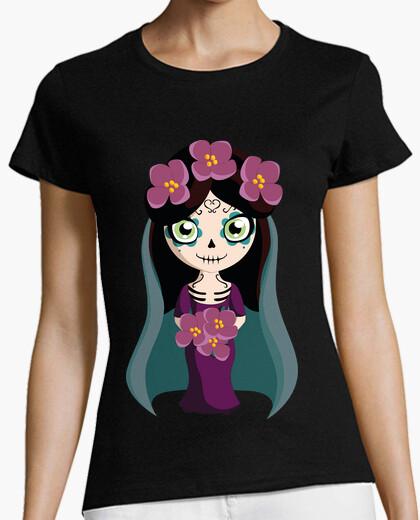 Camiseta Catrina Novia / Katrina / Ramo