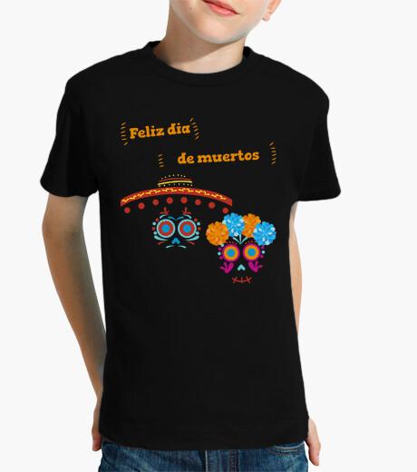 Ropa infantil Catrinas Flores Sombrero Letras