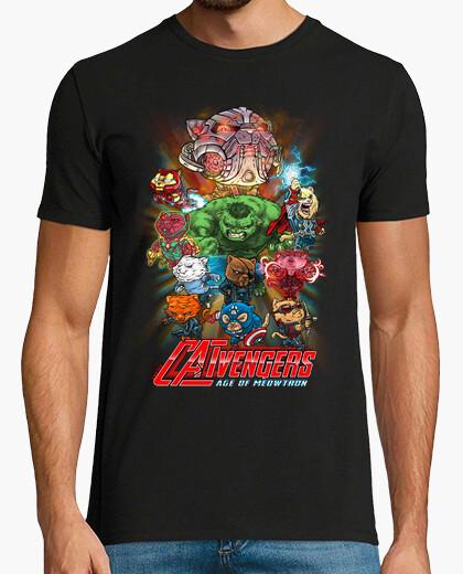 CATVENGERS-Age of Meowtron camiseta