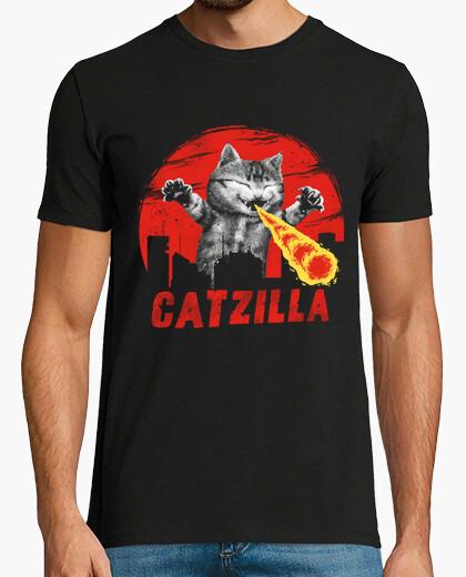 Catzilla Shirt Mens t-shirt