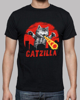 Catzilla Shirt Mens