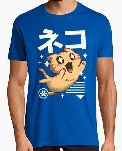 T-shirt caucasico felino