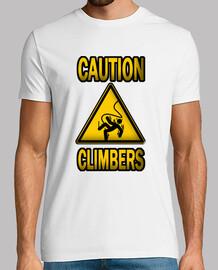 caution climbers