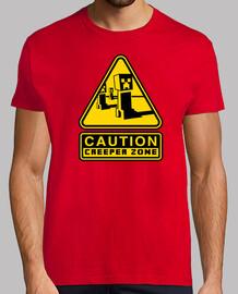 Caution Creeper Zone (Color)