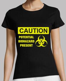 Caution, Potential biohazard