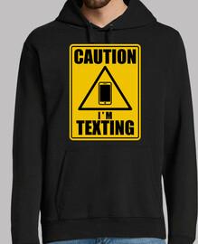 Caution texting