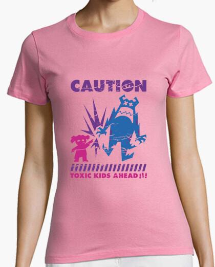 Camiseta Caution... Toxic Kids!