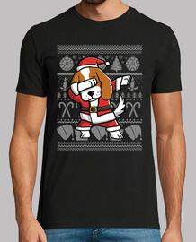 Cavalier King Charles Spaniel Dab Disfraz Navidad