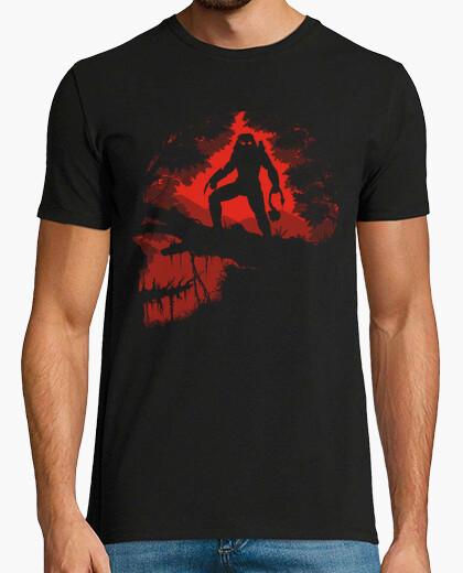 Camiseta cazador de la selva