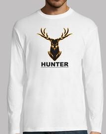 cazador de los ciervos rojos