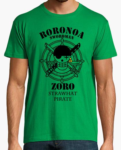 Camiseta cazador piraten logotipo de roronoa zoro