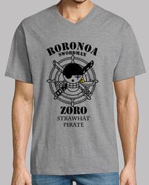 cazador piraten logotipo de roronoa zoro