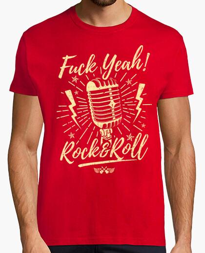 T-shirt cazzo yeah ! rock amp giochi di ruolo l