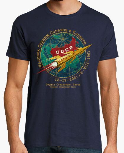Camiseta CCCP Boctok 2 Titov Golden Rocket
