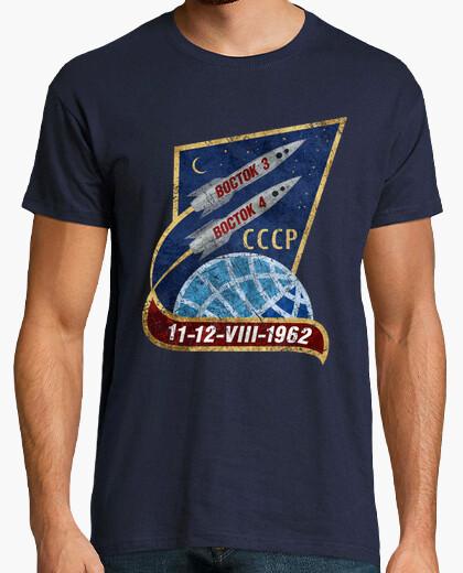 Tee-shirt cccp boctok 3 avril 1962