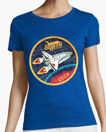 T-Shirt cccp buran weltraum