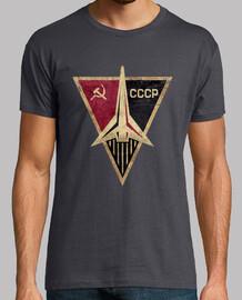 cccp fusée emblème triangulaire