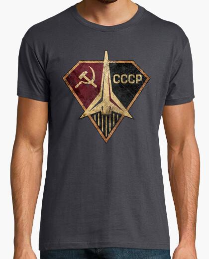 Tee-shirt cccp fusée héros