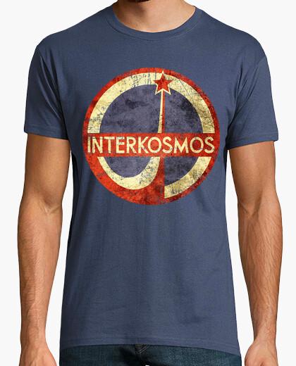 Tee-shirt cccp interkosmos v01