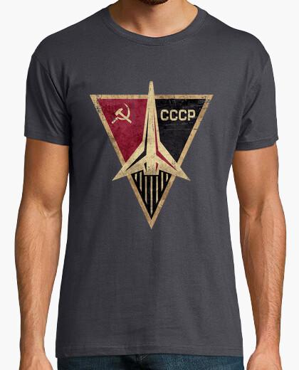 Camiseta CCCP Rocket Triangular Emblem