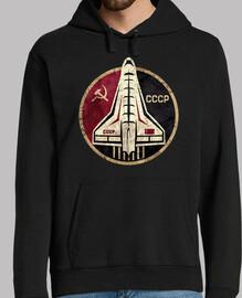 CCCP Space Shuttle Circular Emblem