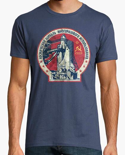 Tee-shirt cccp vaisseau spatial v01