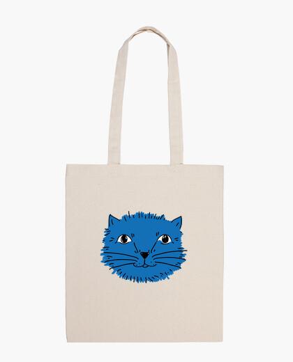 Sac ce chat est bleu, mais pas triste! - cartouchière