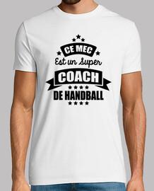 ce mec est un super coach de handball