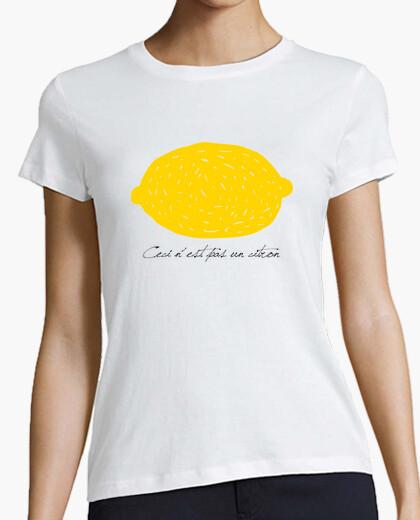 Tee-shirt ce ne est pas un citron.