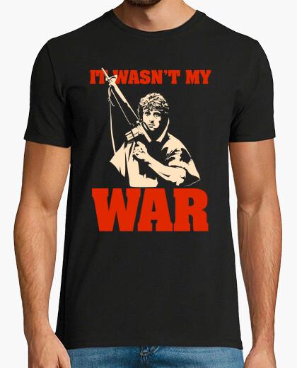 Tee-shirt ce ne était pas ma guerre (rambo)