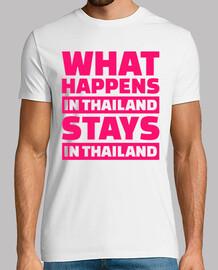 ce qui se passe en thailande reste dans thaila